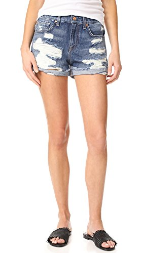7 For All Mankind Women's Destroyed Shorts free shipping