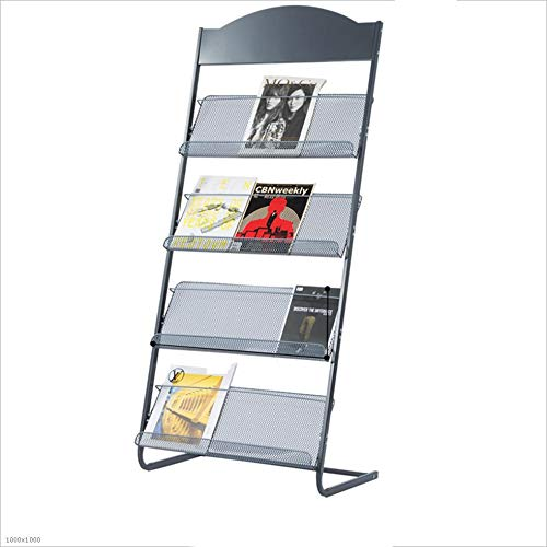 Price comparison product image Bookshelf Xiaomei,  Children's Falling Subway Art Creative Magazine Newspaper Stand Display Stand (Size : 1456338cm)