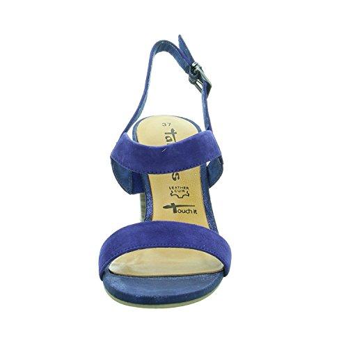 Tamaris 1-28321-28 Womens Sandals Blue 3BoDTG