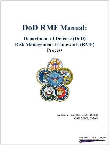 Dod Rmf Manual Department Of Defense Dod Risk Management