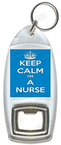 Llavero con abrebotellas «Keep Calm Im A Nurse»: Amazon.es ...