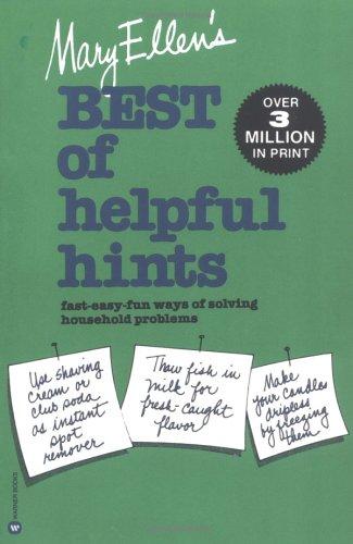 Mary Ellen's Best of Helpful Hints