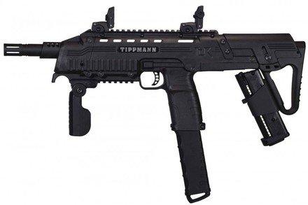 GI Sportz Tippmann TCR Magfed Tactical CQB Paintball Gun - Black