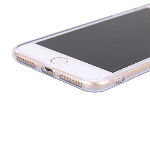 Funda iPhone 8 Plus,EUDTH Suave TPU Gel Funda Case Delgado Silicona Fundas Carcasa Espalda para iPhone 7 Plus / iPhone 8 Plus (5.5 Pulgadas) Paisaje Deciduous