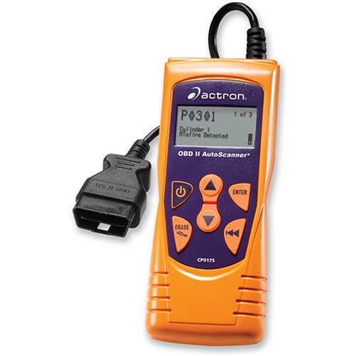 Actron CP9175 AutoScanner Diagnostic Code Scanner with Freeze Frame Data for OBDII  Vehicles