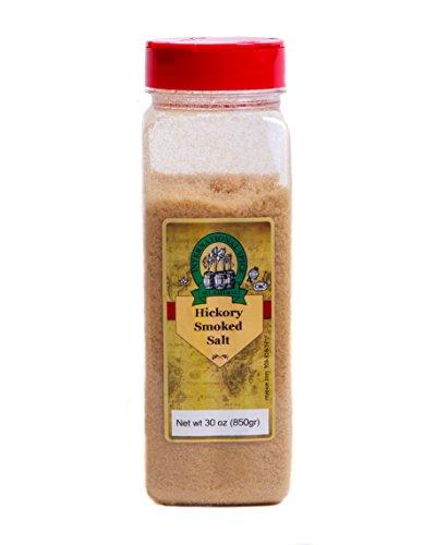 International Spice Premium Gourmet Spices- HICKORY SMOKED SALT: 30 oz