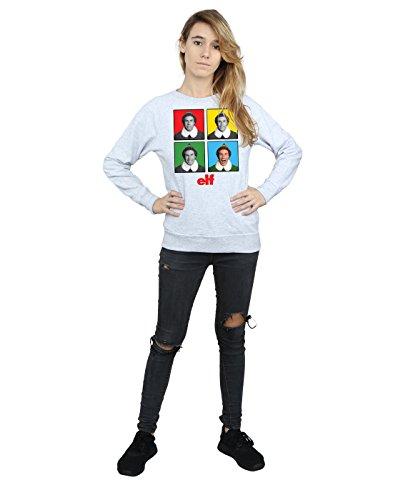 Faces Sport Entrenamiento Camisa Mujer De Four Gris Elf E4PqwTcw