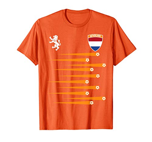 Netherlands Soccer Jersey Womens World 2019 Cup France T-Shirt