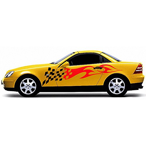 Racing Flames Clipart Vinyl Cutter Plotter Images Vector