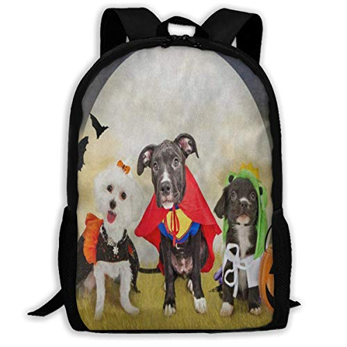 Backpack Hipster Puppy Dog Dressed In Halloween Costumes Marvellous For Girl Halloween