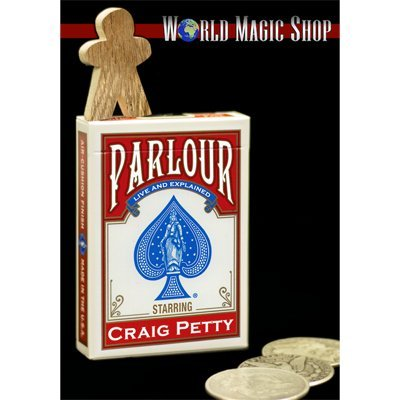 Parlour Magic - Parlour by Craig Petty and World Magic Shop - DVD
