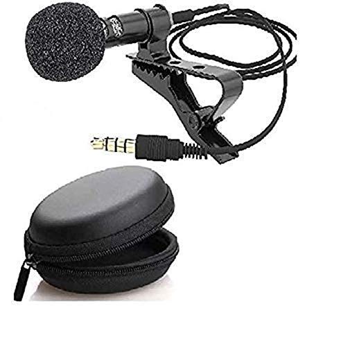 Gadgets Appliances Mini Microphone Lavalier Lapel Coller Microphone Kit with Voice Recording Filter Mic for Recording…