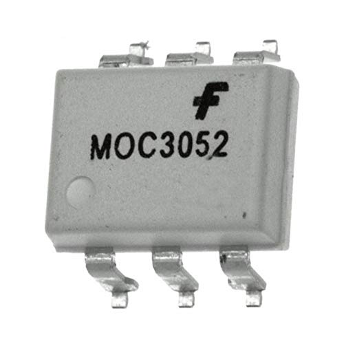 MOC3052SM ON Semiconductor Isolators Pack of 100 (MOC3052SM)
