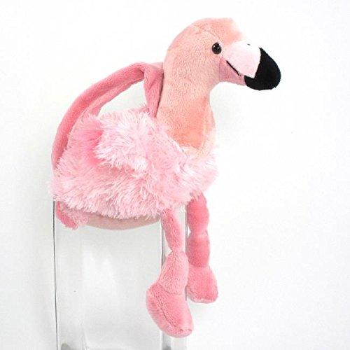 Flamingo Purse (Wishpets Stuffed Animal - Soft Plush Toy for Kids - 10