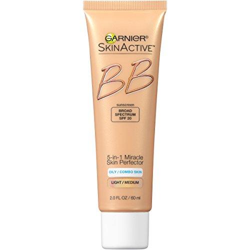 Garnier SkinActive BB Cream Face Moisturizer For Oily/Combo Skin, Light/Medium, 2 fl. oz.