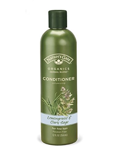 Lemongrass Sage - Nature's Gate Volumizing Conditioner - Lemongrass & Clary Sage - 12 oz