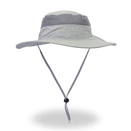 d09c6c88f1160 Bucket Hat Outdoor Men s Boonie Hat Summer UV Protection Sun Hat Hunting Hat