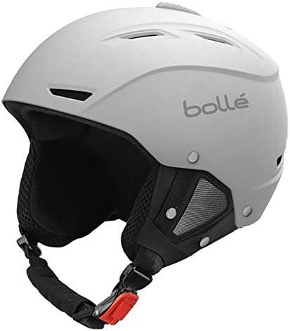 BOLLE(ボレー)ヘルメット 2018 BACKLINE(バックライン)ソフトホワイト 17-18 ヘルメット スキーヘルメット【C1】  L(59-61cm)