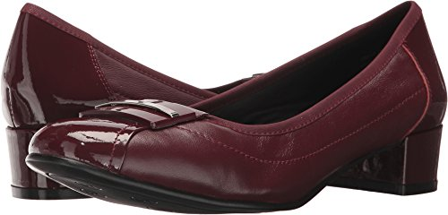Burgundy Patent Footwear (David Tate Women's Ideal Burgundy Shoe)