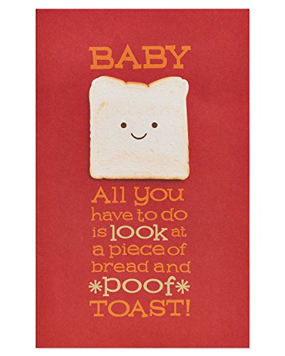 American Greetings Funny Toast Birthday Card for Husband