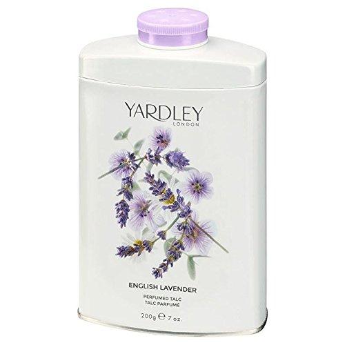 TWO PACKS of Yardley London English Lavender Talc 200g Yardley of London Ltd