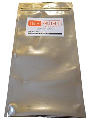 Flare Handheld Red (Tech Protect Faraday/EMP Bag Size Medium 8