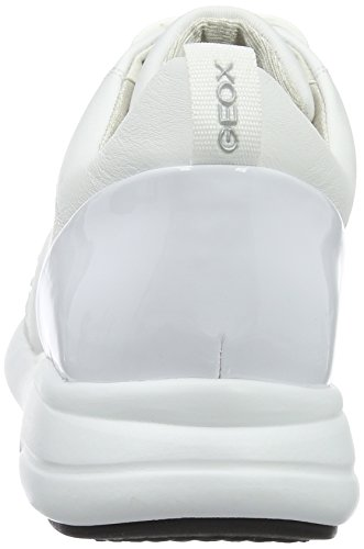 Geox D Ophira a, Zapatillas para Mujer Blanco (whitec1000)