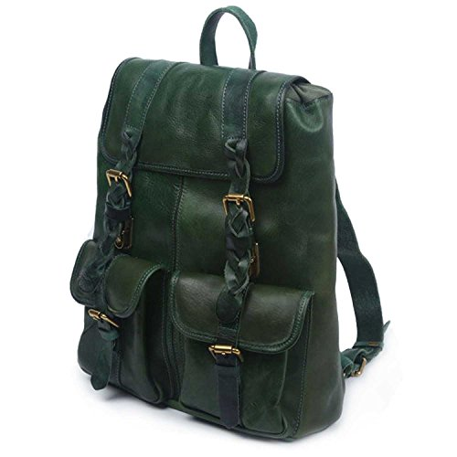 old-trend-leather-amy-backpack-green