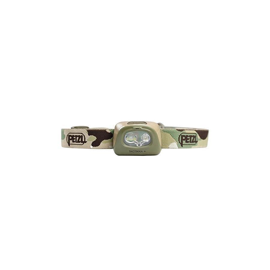 PETZL TACTIKKA + Headlamp 160 Lumens, Camo