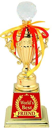 buy aark india abz trophy best friend award gold online at low