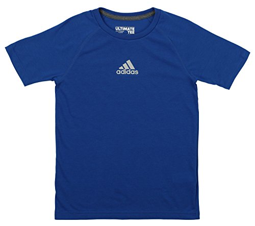 Adidas Soccer Short Sleeve Tee - adidas Boys' Climalite Short Sleeve Graphic Tee, EQT Blue Medium