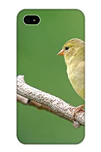 Guidepostee ZMqqgg-2280-NtcXB Protective Case For Iphone 4/4s(Animal Goldfinch) - Nice Gift For Lovers