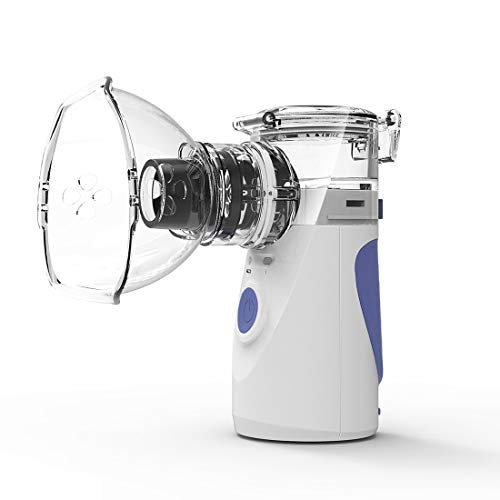 Handheld Lightweight Atomizing Humidifier for Travel and Home Use