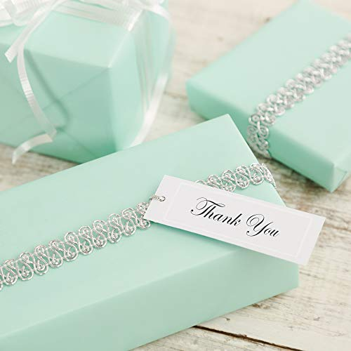 (Wilton Rectangular Wedding Favor and Party Favor Gift Tags, 80 pc, 2.75