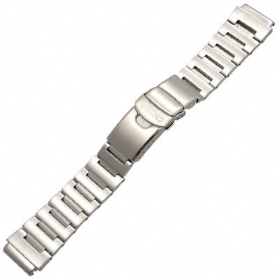Seiko Steel Watchband For Monster Watch. Genuine Seiko Watch Band 20mm.