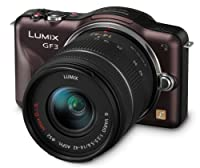 Panasonic Lumix DMC-GF3K 12 MP Micro 4/3 Compact System Camera with 3-Inch Touch-Screen LCD and 14-42mm Zoom Lens from Panasonic