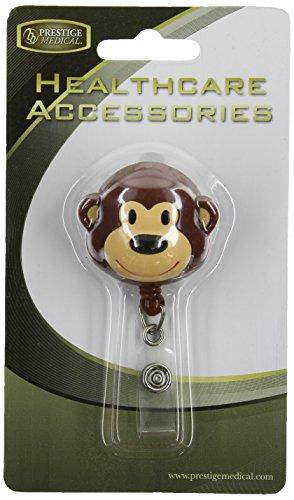 Deluxe Retractable ID Holder, Monkey ()