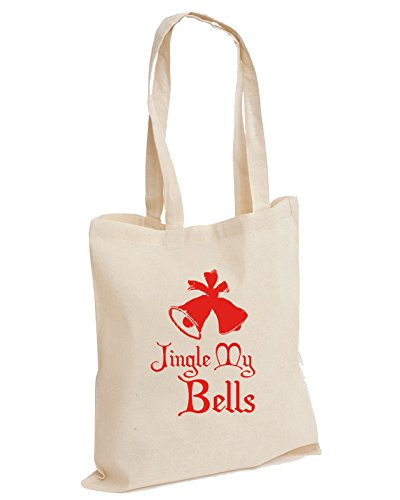 Tote Snow Unisex Jingle Man Filler My Merry Christmas Cotton Bag Filthy Rude Bells Enjoy Natural Joke Animal Stocking wfSAxB
