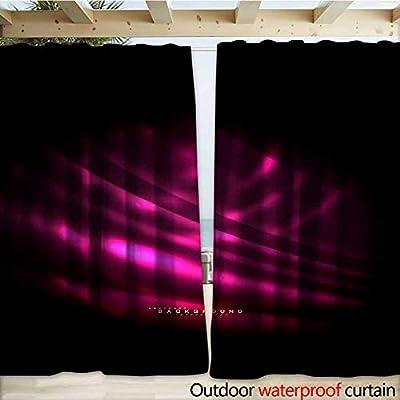 Amazon com : warmfamily Outdoor Waterproof Curtain Neon
