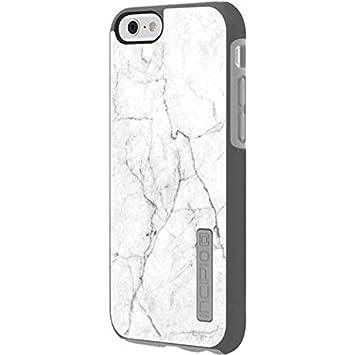 factory price 0a591 e5f95 Amazon.com: Marble Incipio DualPro Shine iPhone 6 Skin - White ...