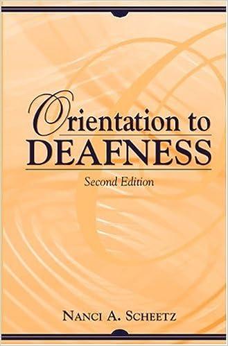 Download di epub ebooks Orientation to Deafness (2nd Edition) PDF DJVU