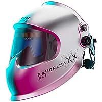 Optrel Panoramaxx CLT zilveren automatische lashelm nieuwe IsoFit hoofdband 1010.201