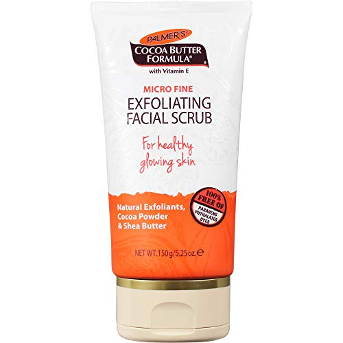 Palmer's Cocoa Butter Formula Exfoliating Facial Scrub with Vitamin E | 5.25 Ounces