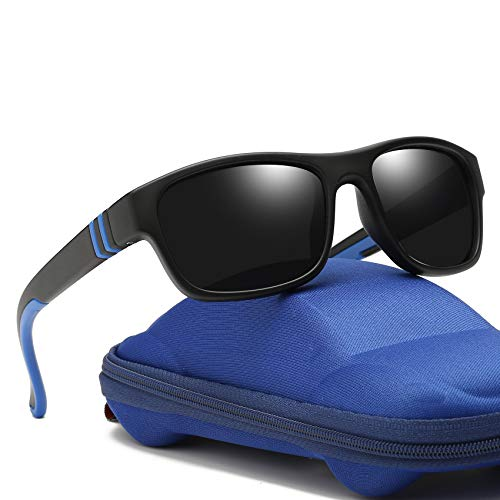 e8b1baf1fd Duco Kids Sports Style Polarized Sunglasses Rubber Flexible Frame For Boys  And Girls