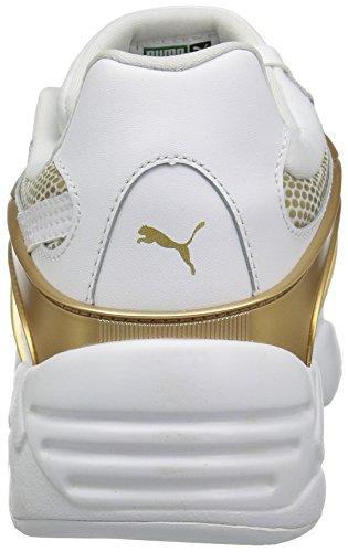 Puma Donna Blaze Oro Wns Fashion Sneaker Puma Bianco / Puma Bianco