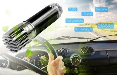 Amazing New 2018 Car Air Purifier(Black), Ionizer Auto Air Freshener and Ionic Air Purifier | Remove Dust, Pollen, Smoke and Bad Odors (Auto Ionizer)