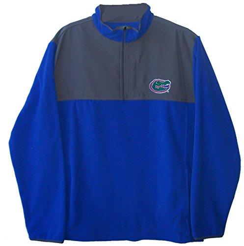 Florida Gators Size Large 1/4 Zip Pullover Sweatshirt Jacket NCAA - Team Colors