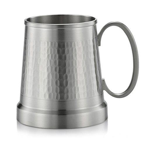 Royal Selangor Hand Finished Generic Collection Pewter Tankard in Hammered -