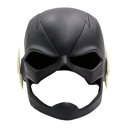 xcoser Flash Mask Helmet Props For Adult Halloween Costume PVC (The Flash Diy Costume)