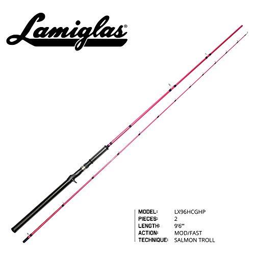 Lamiglas LX96HCGHP Ladies Pink Z119'6